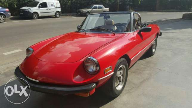 Sale or Trade Classic Alfa Romeo Spider