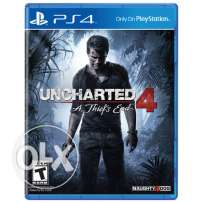 Uncharted 4 PS4 Brand New Sealed (makhoume)