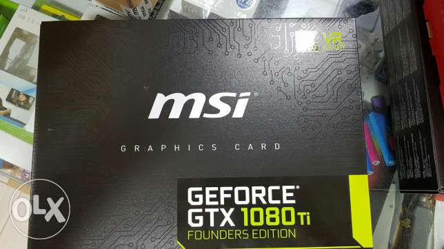 Brand new geforce gtx 1080ti founders edition