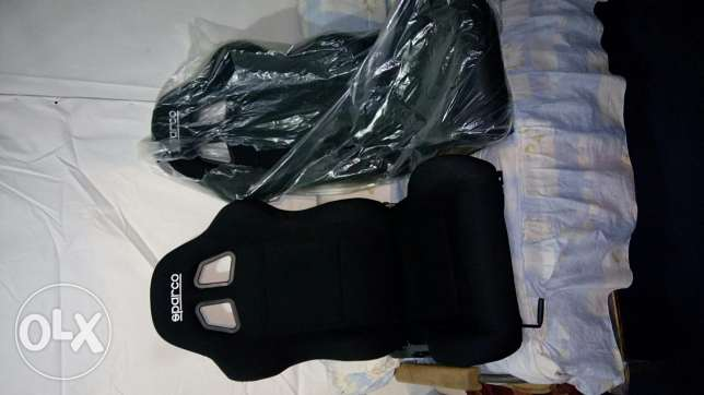 Sparco seats never used