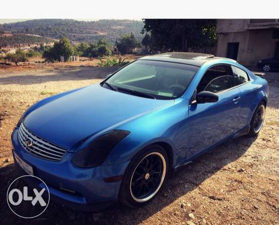 infinity g35 coupe mod 2003 technology verry clean car. الشوف -  5