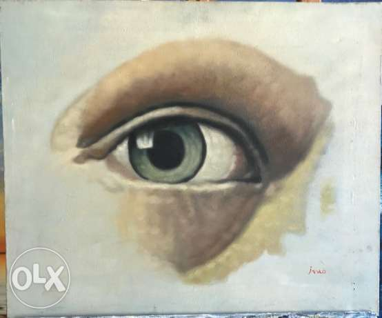 Nice Eye Oil Painting For Sale.