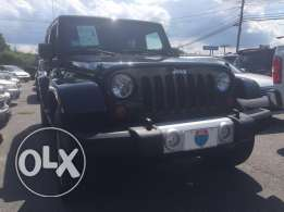 Jeep Wrangler sahara 4doors 2012 Hardtop/Soft top black