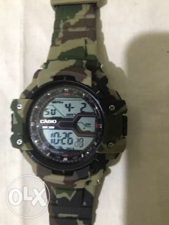 Casio army watch