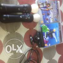 ps3 move + camera + free starter's disc + free sport's chsmpions