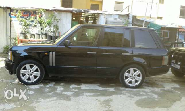 Range rover vogue 2004 Black