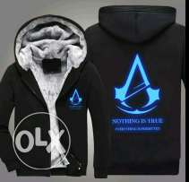 Assassins creed Winter Jacket Luminous Cashmere Thickened