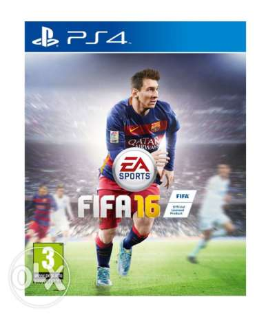 Fifa 16 ps4 for sale عاليه -  1