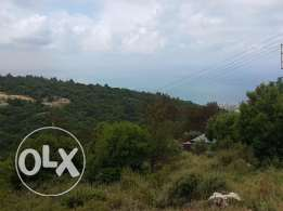 Ref (PE1.L.285), 980 m2 Land for sale in Kfour (sea view)