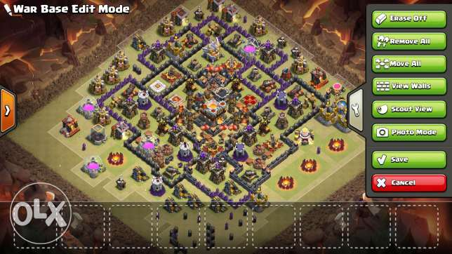 clash of clans TH 11(read speci)